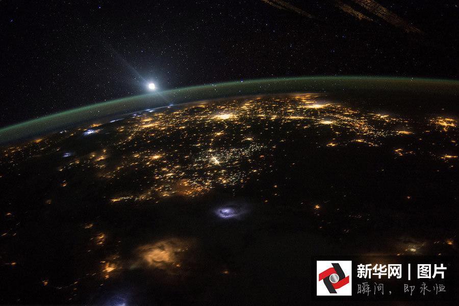 震撼!从国际空间站看地球壮丽美景