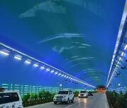 探访青兰高速六盘山隧道 犹如海底世界