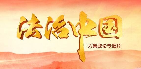 《法治中国》:奉法者强