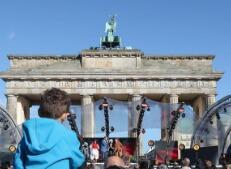 德国柏林举行统一日庆祝活动
