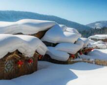 春天来雪乡看雪