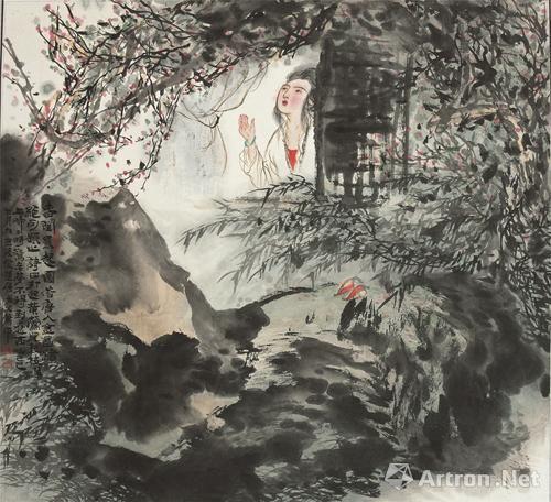 萧平、萧晖荣、宋玉麟在汕举办中国画联展