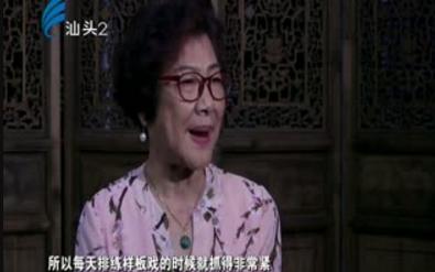 潮汕风 郑健英的潮剧人生 2017-09-04