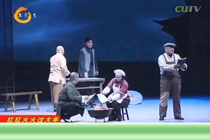 现代晋剧《高君宇与石评梅》拉开省城精品舞台剧目展演序幕