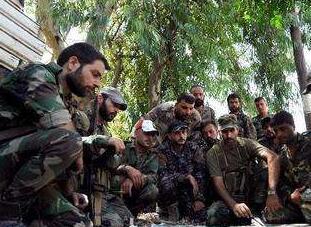叙政府军组织平民重返东古塔地区