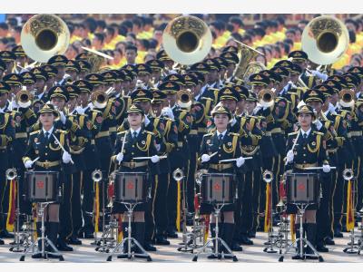 新樂曲、新樂器、新特點:聯合軍樂團彰顯新時代特色