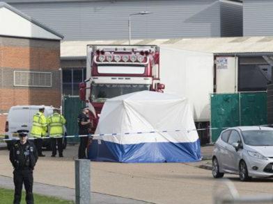 英国货车惨案:越南已逮捕11人 将公布遇难者身份