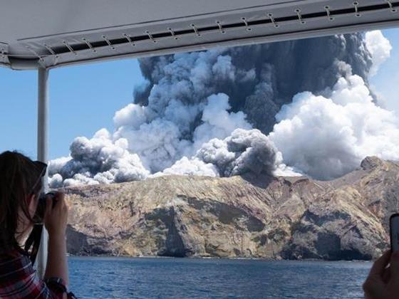 新西蘭懷特島火山噴發 已致5人遇難