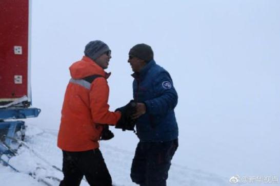祝贺!中国南极科考队内陆队顺利回到中山站