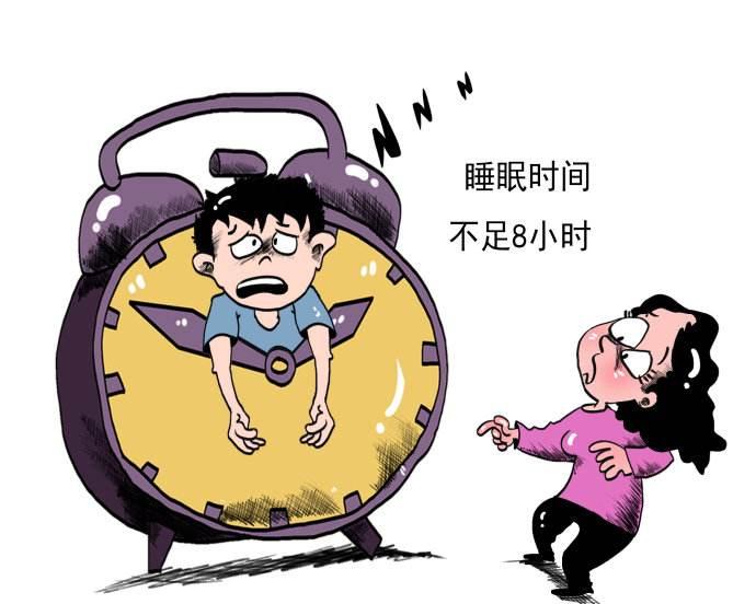调查:中国超六成青少年儿童睡眠时间不足8小时