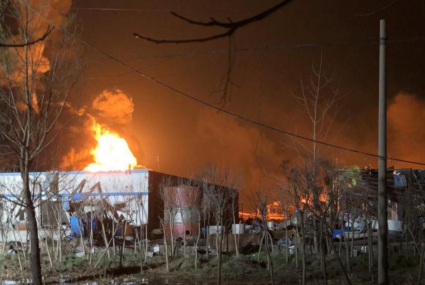 江苏省生态环境厅:盐城爆炸事故现场甲苯和二甲苯未超标