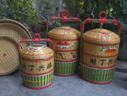 潮州这对老夫妻编织的竹器美观耐用,曾服务于不少潮汕民俗活动