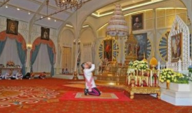 駐泰使館提醒在泰中國公民遵守國王加冕典禮期間相關規定習俗