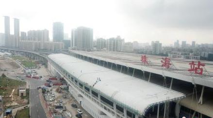连接粤澳首条轨道交通珠机城际铁路珠海站正式完工