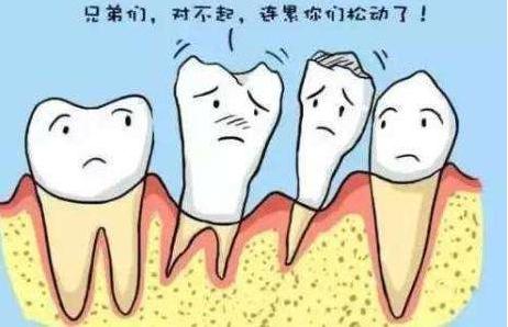 正畸导致牙齿提前松动脱落?