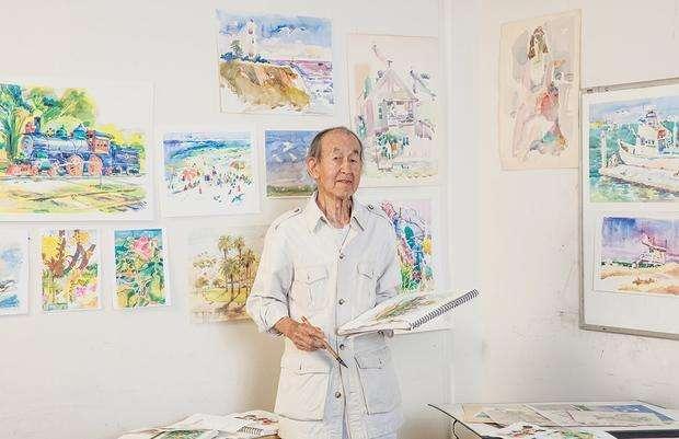 迪士尼華裔動畫師去世享年105歲 長壽秘訣竟是……