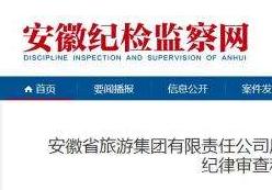 安徽省旅游集团原董事长刘文兵退休4年后被查