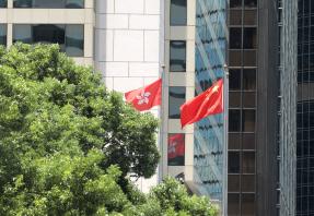 香港警方24日拘捕29人 涉嫌藏有攻擊性武器及襲警等