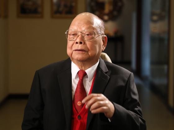 """他说的最多的是""""报效国家""""——最后一次采访曾宪梓先生印象"""
