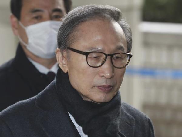韩国前总统李明博二审被判17年有期徒刑