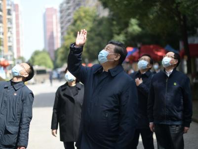 习近平回信勉励武汉东湖新城社区全体社区工作者