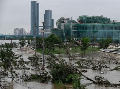 韩国暴雨致死人数升至26人