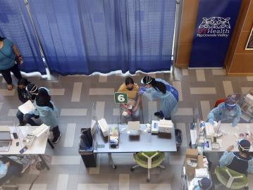 美國5800人完成接種后感染新冠