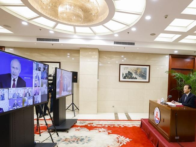 俄羅斯總統普京:俄中關系達到前所未有的高水平