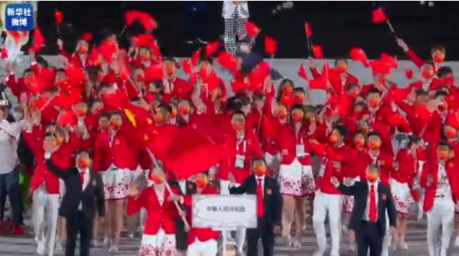 中國代表團獨家高清視頻來了!