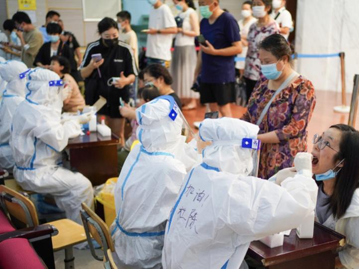 28日新增本土24例 南京开展第3轮全员核酸检测
